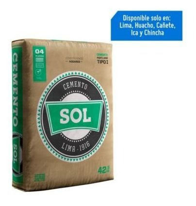 Cemento Sol T1 Consult Stock