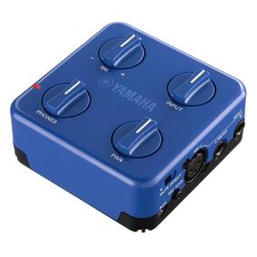 Mixer Pessoal Yamaha Session Cake Sc-02 Azul Com Alimentaç