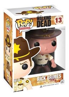 Funko Pop The Walking Dead Rick Grames 13 Orig Scarlet Kids