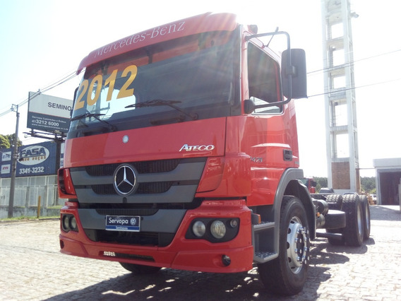 Mb Atego 2429 Ano 2012 / Ford Cargo / Vw 24.2250 / Vw 24.280