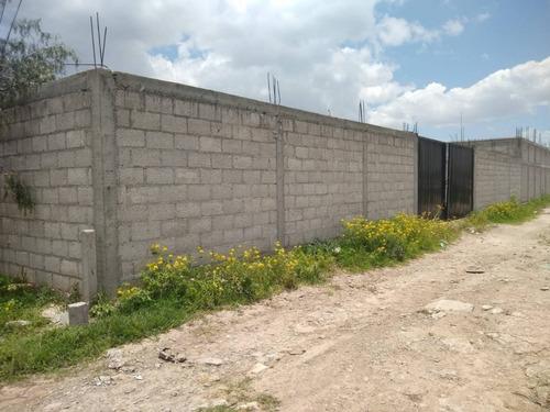 Imagen 1 de 5 de Venta De Terreno En San Antonio El Desmonte, Pachuca Hidalgo, Bardeado