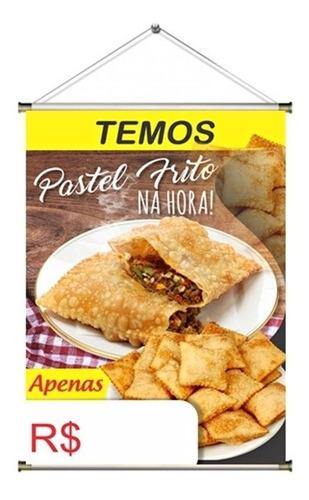 Banner Pronto Pastel Frito Na Hora