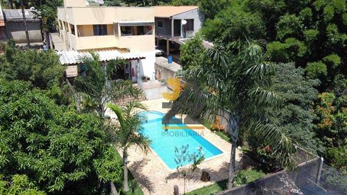Bela Chácara Com 3 Dormitórios À Venda, 700 M² Por R$ 580.000 - Chácaras Cruzeiro Do Sul - Santa Bárbara D'oeste/sp - Ch0589