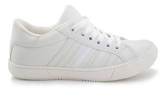 Zapato Escolar Fisher Para Niño 9715 Blanco [fis278]