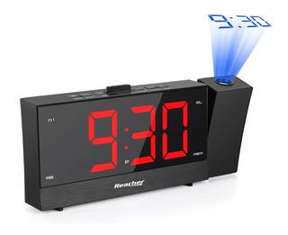 Reloj Despertador Led Digital Temporizador Radio Alarmas Usb