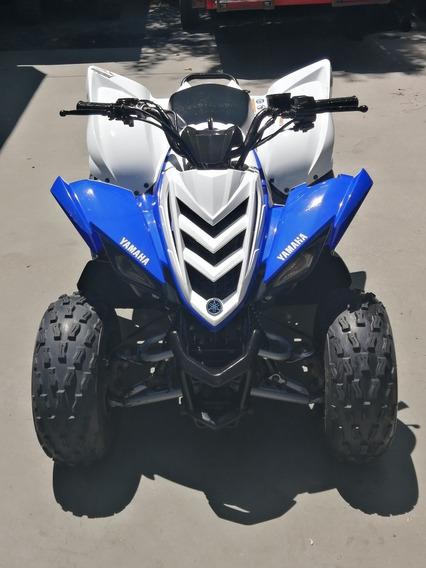 Yamaha Raptor 90 2013, Rodado 2014