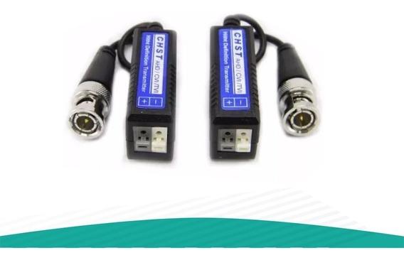 Pack 100 Par Balun Cctv Hd Turbo Seguridad Ahd Cvi Tvi Utp