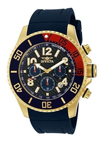 Invicta 13730 Pro Diver Reloj Crona³grafo Negro Fibra De C