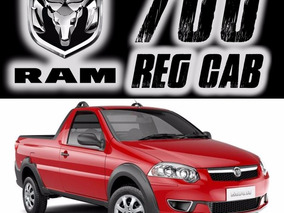 Pickup Ram 700 St Regula Cab 2016 Airbag Abs 4cil Muelle Rhc