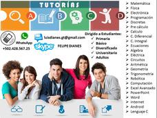 Tutorias Clases De Programacion, Matematica, Fisica, Etc