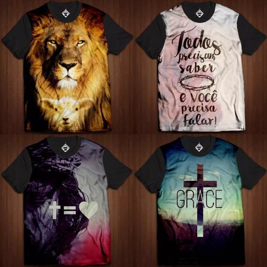 Atacado Camisetas Evangélicas