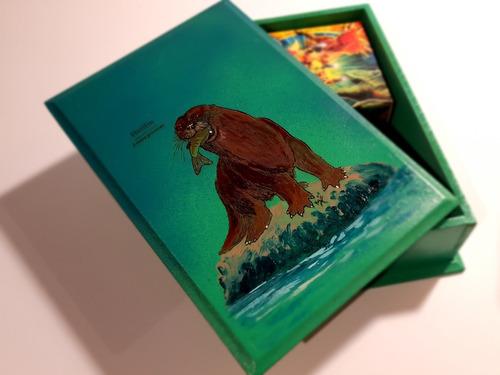 Cajas Grabadas Con Ilustraciones De La Fauna Chilena