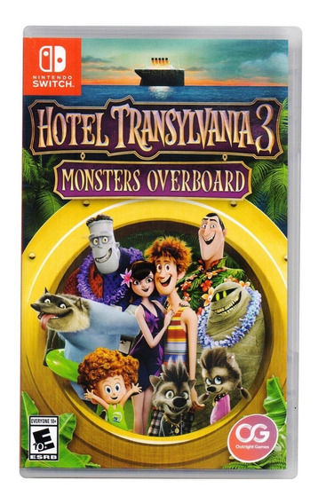 Hotel Transylvania 3 Monsters Overboard Nintendo Switch
