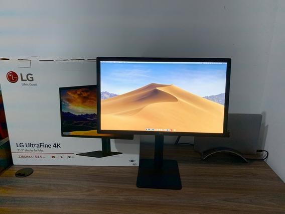 Monitor Lg Ultrafine 22 4k Usb-c + Teclado Apple + Bookarc