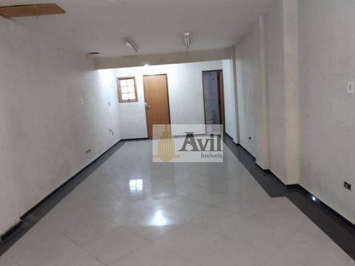 Sala Para Alugar, 80 M² Por R$ 2.200,00/mês - Tatuapé - São Paulo/sp - Sa0047