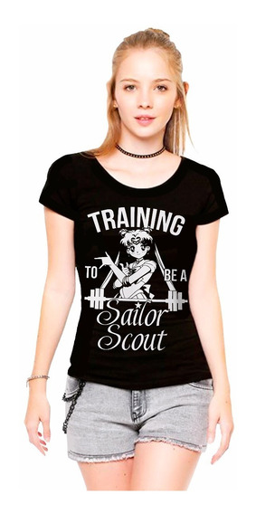 Remera Mujer Sailor Moon Training