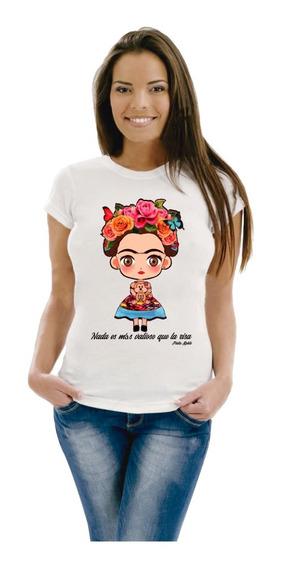 Remera Frida Kahlo Varios Modelos