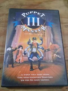 Puppet Master 3 ( Dvd ) El Juguetero Del Diablo 3