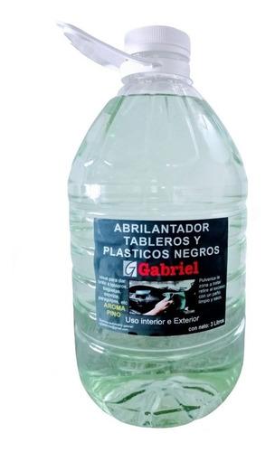 Abrillantador Renovador Plasticos Sin Silicona 3 Litros