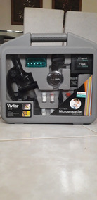 Kit Maleta Microscopio 40 Peças
