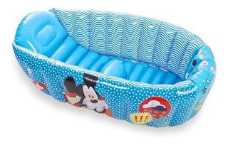 Bañera Inflable Bebé Disney Compacta Mickey Minnie - Arenita