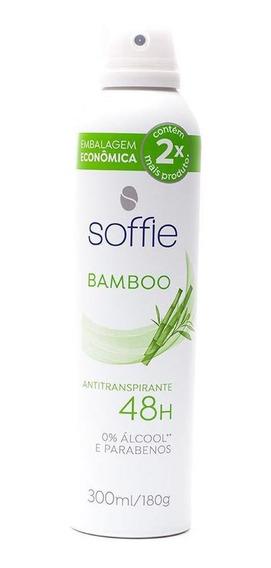 Desodorante Antitranspirante Soffie Bamboo