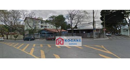Imagem 1 de 6 de Terreno À Venda, 505 M² Por R$ 1.510.000,00 - Vila Industrial - São José Dos Campos/sp - Te0950