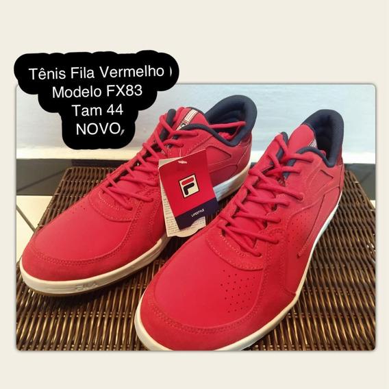 Tênis Fila Fx 83 Vermelho Original Novo