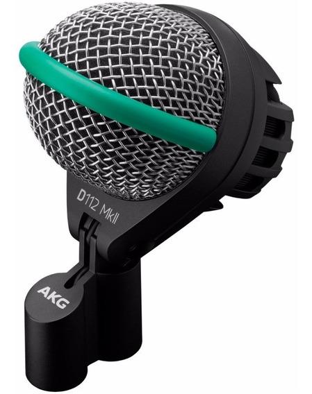 Microfone Dinâmico Akg D112 Mkii Para Bumbo E Percussão