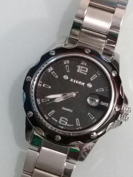 Relógio Masculino Com Pulseira Em Aço Inoxidável
