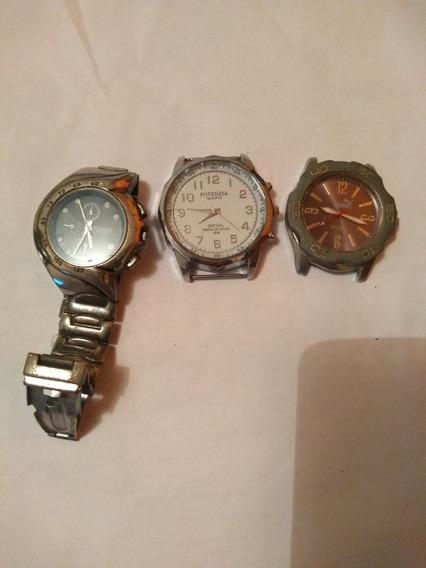 Relógio De Pulso, Sejfsin; (compre 1 E Leve 3) R$60