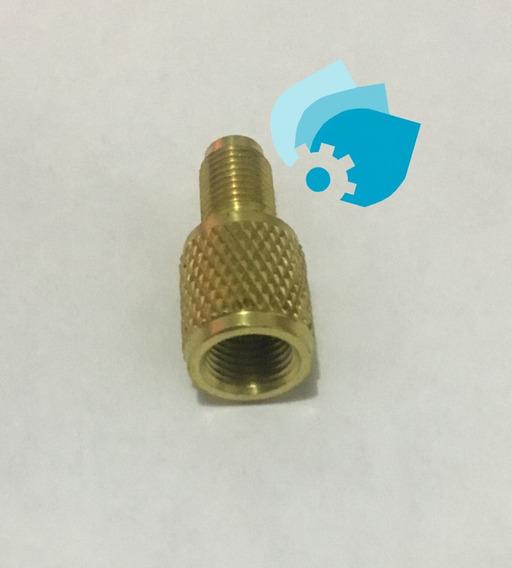 Adaptador Clima Minisplit Gas R410 1/4m A 5/16h