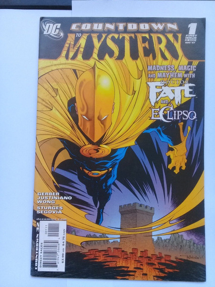 Countdown To Mystery #1 - Dr Fate Crosstore