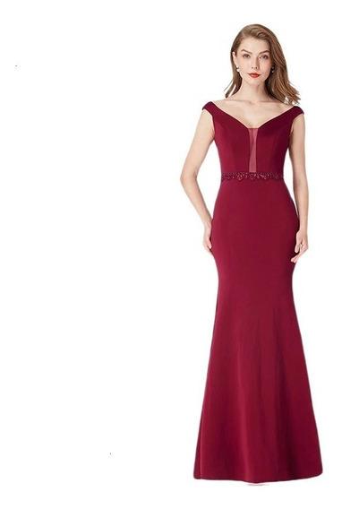 Vestido De Mujer De Gala Cocktail, Largo Elegante.
