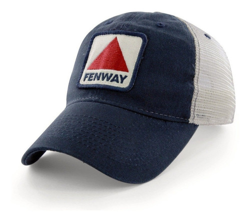 Chowdaheadz Fenway Patch Urbanita Mesh Trucker Navy Hat P