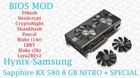 Biosmod Amd Rx 470/480/570/580 8gb/4gb