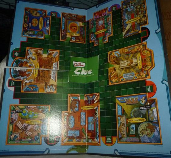 Hasbro Clue Simpsons Tabuleiro