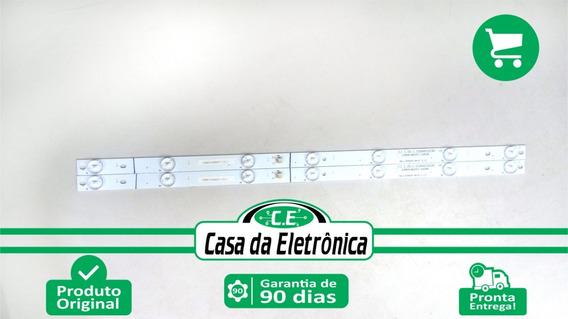 Kit Barras De Leds Com 7 Leds Tv Philco Ph24n91d