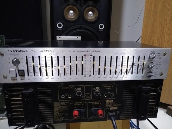 Equalizador Cygnus Ge 1800 (oportunidade) Tape Tuner Discos