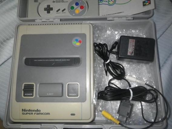 Game / Super Famicom /com Maleta /com Manual