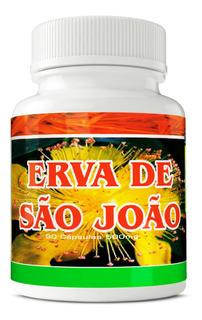 Erva De São João 500mg 90 Cápsulas Ervas Brasillis