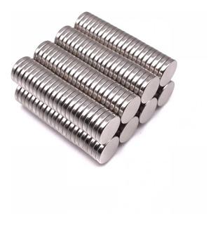 Imanes De Neodimio 8x2 / 8mm X 2mm (15 Unidades)