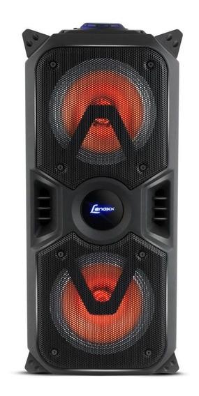 Caixa De Som Amplificada Lenoxx C/ Bluetooth Usb/sd/p10/aux Bateria Interna Bivolt Ca-400