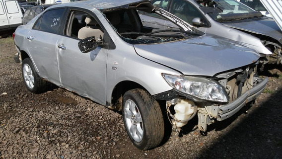 Sucata Toyota Corolla 1.8 136cvs Flex 2010 Rs Caí Peças