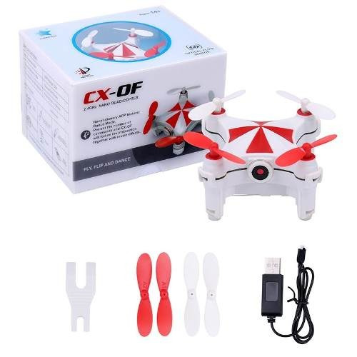 Mini Drone Com Camera Wifi Ao Vivo Fpv Cheerson Cx-of Sensor