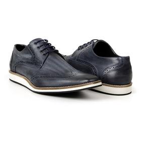 7a701ca5466 Sapato Masculino Oxford Casual Estonado Em Couro Bigioni