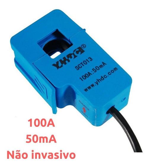 Sensor De Corrente 100a 50ma Sct013 Não Invasivo *190202