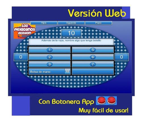100 Mexicanos Dijeron Software Version Web Mercado Libre