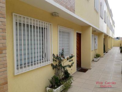 Sobrado Com 3 Dormitórios À Venda Por R$ 500.000 - Vila Guilhermina - São Paulo/sp - So0158