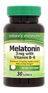 Enciclopedia De Melatonina Con Vitamina B6 30tab